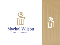 Legal Services Logo Design Proposal Option 2