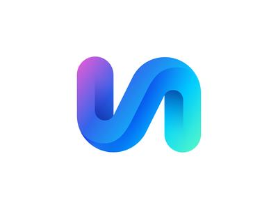 V + A Logo Design