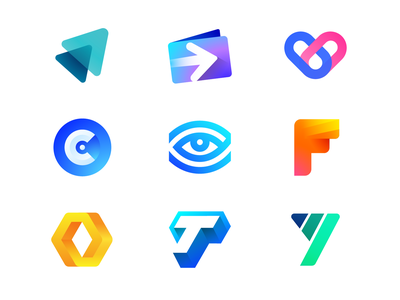 Best Nine Shots of 2018 progress rise success growth growth success up rise y illustration startup business t negative space angle hexagon loop endless sketch letter f shadow highlight eye see lines vision monogram o c depth heart health medicine pills wallet app transfer currency arrow fast send payment gradient grid modern shine brand identity branding graphic logo mark symbol icon