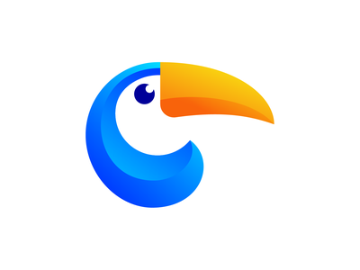 Toucan Logo Design Exploration
