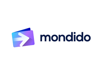 Mondido Logo Animation video loop play movie speed instant quick safe finance currency fintech fast arrow transfer wallet coin payment money send pay app form method gateway grow scale up rise modern startup business company gradient shade 3d 2d design ui transparent clean for sale unused buy gradient design ui app brand identity branding graphic logo mark symbol icon