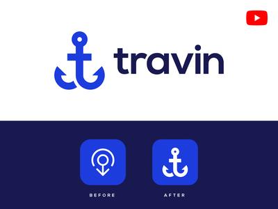 Travin Logo Update