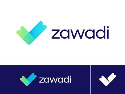 Zawadi Approved Logo Design for Ticketing Platform