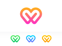 W + Heart Logo Exploration (Unused)