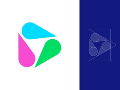 Play / Pin / Drop / Cone Logo Exploration