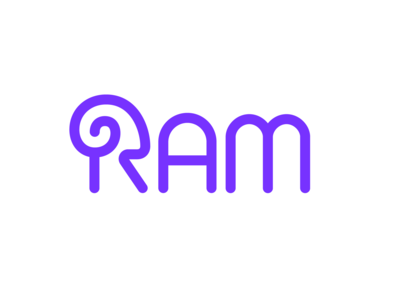 Ram Wordmark Design