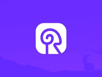 R for Ram Icon Design