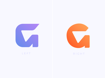 G / Arrow Logo Exploration — Left or Right?