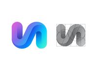 V + A Logo Grid + Video Process