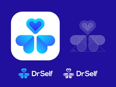DrSelf Approved Logo Design for Self Care Medical App