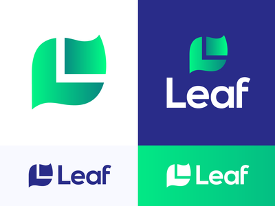 L + Leaf Simplified Logo Exploration
