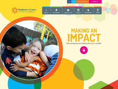Brighton kids colorful bright non-profit
