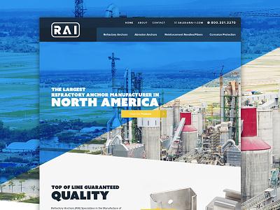 Rai Small blue manufacturer factory web design