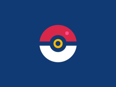 Poké Ball - Flat Version