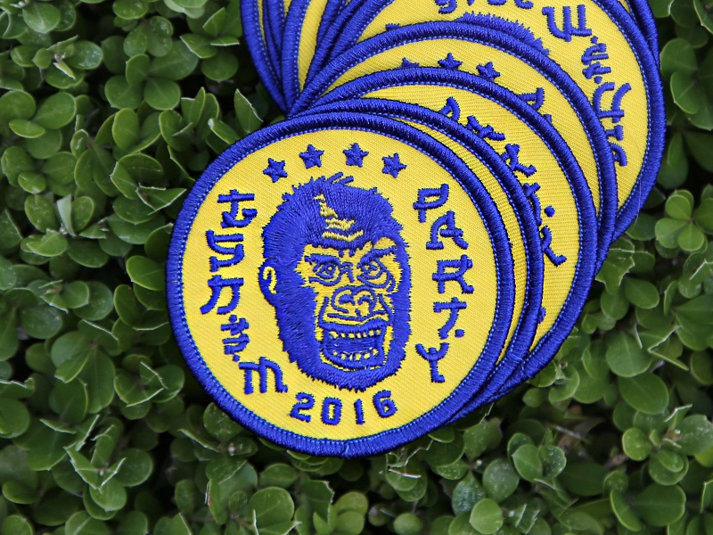 Gsdm sxsw party patch by laura guard