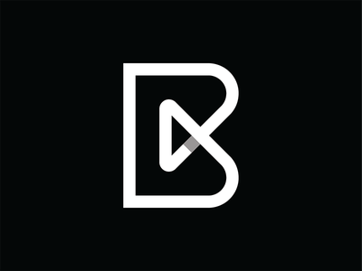 Blowhorn logo b arrow direction identity logo