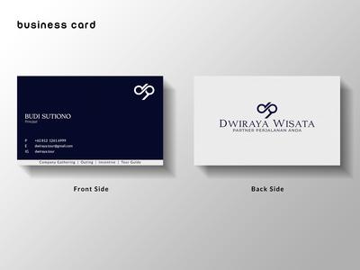 Dwiraya Wisata Business Card
