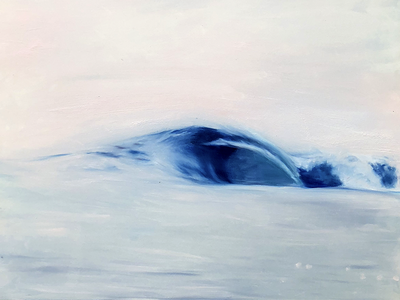Wave No. 40 art waves oil painting