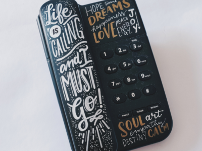 ☎️ type handmade handlettering lettering