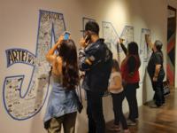 Collaborative lettering process