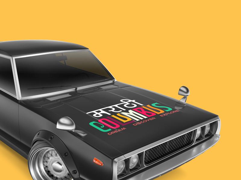 Branding & Marketing india mockup mockups branding design