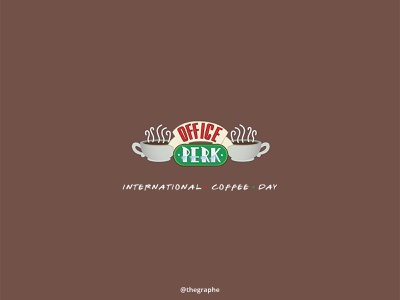 Coffee Day moment marketing mockups mockup illustration minimal design branding