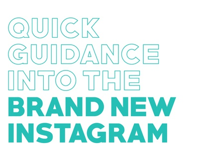 Instagram Guide Feature logo moment marketing animation mockups mockup illustration minimal design branding