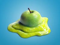 3D Illustration for jam company  (Apple jam)