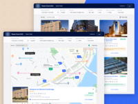 Hotel Reservations book web filters map view map cards room reservation booking hotel