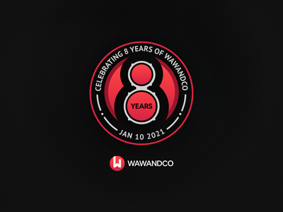 8th Anniversary! guaguancó wawandco bongó sound numbers eight anniversary anniversary party celebration birthday 8 years anniversary logo years