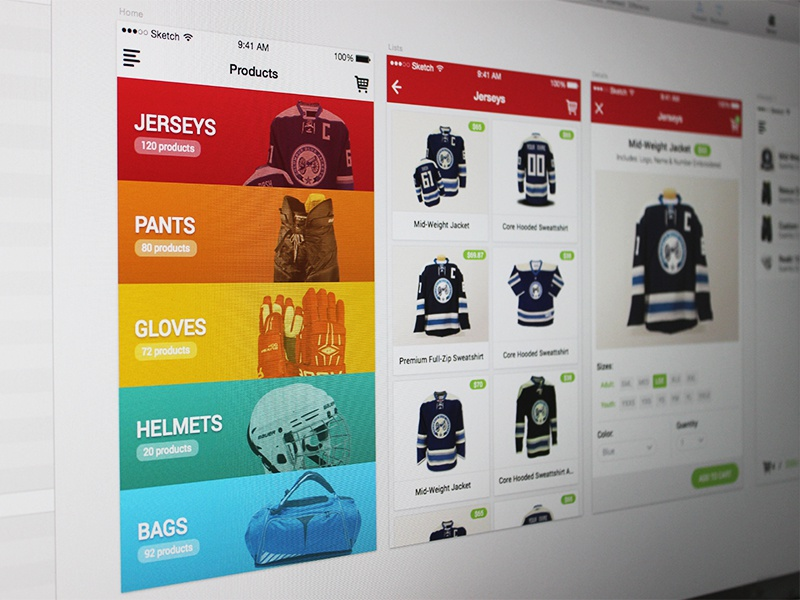 Hockery App jerseys layout jockey team sport on line shop clothes store