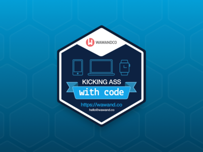 Kicking Ass Sticker  development kick ass app watch mobile web devices hexa code sticker
