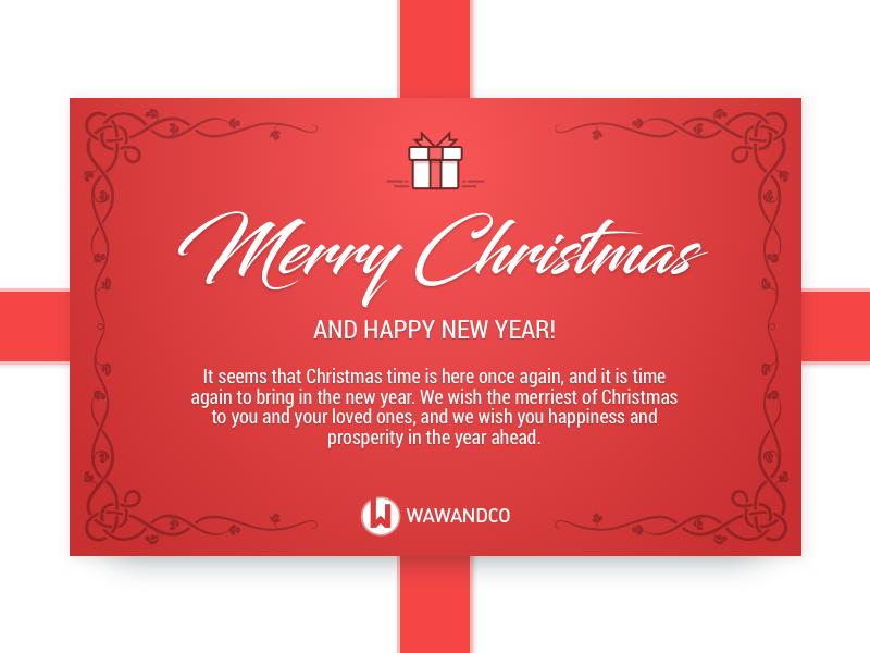 Christmas Card present christmas card happiness navidad new year gift holiday merry christmas card christmas