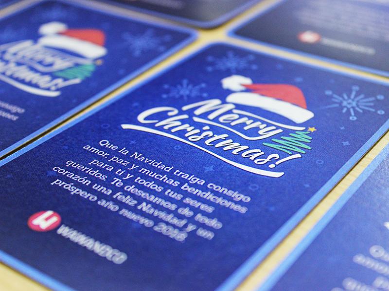 Merry Christmas Card! santa navidad christmas tree holiday christmas card merry christmas
