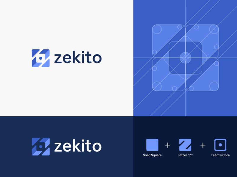 Zekito Brand logotype web app management brand identity brand mark branding logo zekito