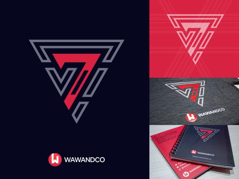 7th Anniversary Wawandco branding print design book commemoration ceremony logo seven notebook t-shirt 7 anniversary