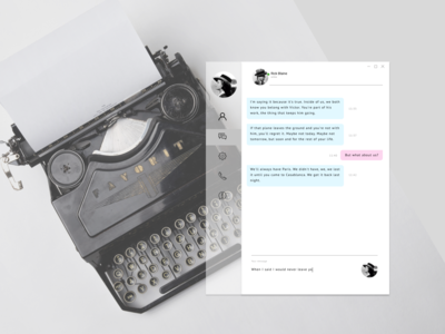 Daily UI 013. Direct Messaging