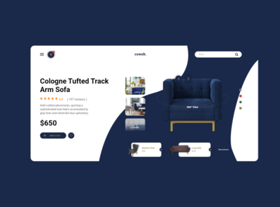 Cowch - Product Page