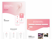 Landing page - Nails Course