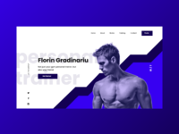 Fitness Website - Personal Trainer