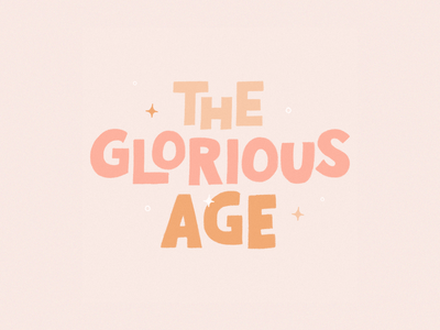 The Glorious Age glorious song lyrics thesymposium design illustration handtype handlettering letters lettering type typography