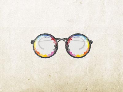 Glasses glasses icon logo digital inventor