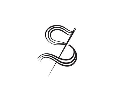 S s needle yarn monogram