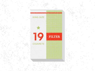 19 Filter illustration yugoslavia slovenia filter 57 package retro king size cigarette cigarete filter