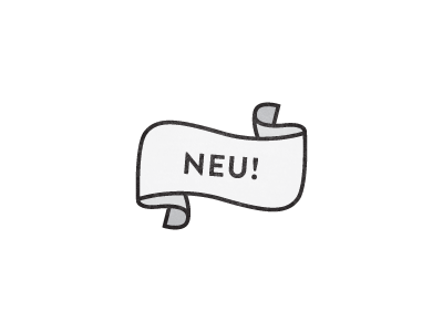 Neu! neu new ribbon wave line