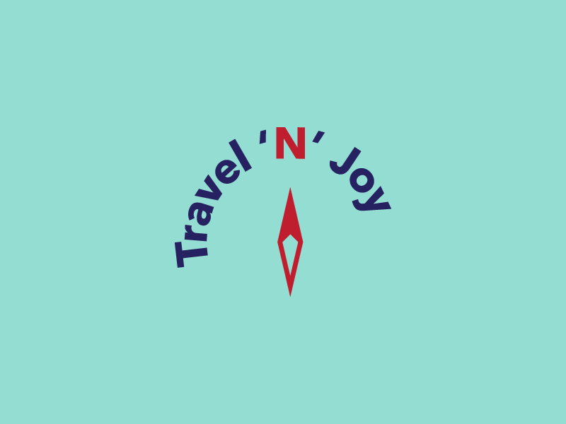 T'N'J north compass tourism logo travel