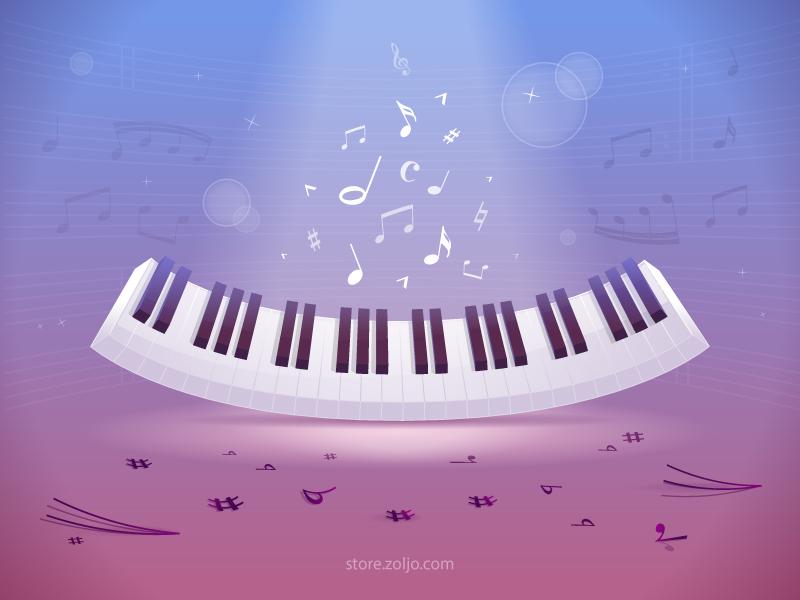 Music Background By Zoran Milic Dribbble
