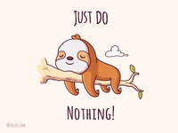 Just Do Nothing!