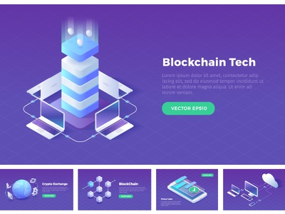 Isometric Stock Illustrations stock isometric illustrations technology cloud blockchain cryptocurrency