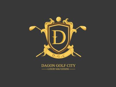 Dagon Golf City Logo